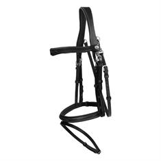 Bridle Dy'on Working Collection Flash Noseband With Snap Hooks