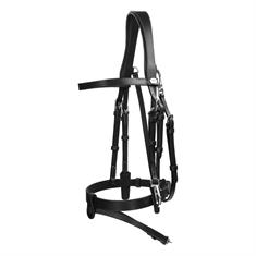 Bridle Dy'on Working Collection Flat Leather With Snap Hooks