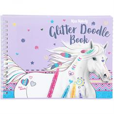 Colouring Book Miss Melody Glitter