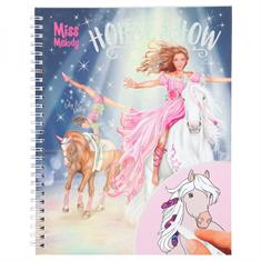 Colouring Book Miss Melody With Felttip Pens