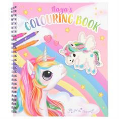 Colouring Book Ylvi With Unicorn Sequins