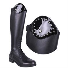 Exchangeable Top of Riding Boot QHP Romy Crystal
