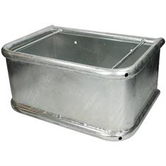 Food Manger Zinc plated Rectangular