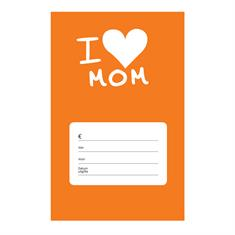 Gift Card Sleeve I Love Mom
