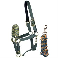 Halter and Lead Rope Harry's Horse Melange