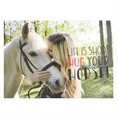 Postcard Hug Your Horse