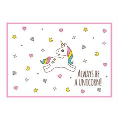 Postcard Unicorn