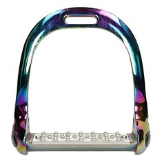 Stirrups Rainbow Aluminium Grip