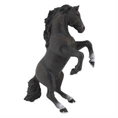 Toy Horse Rearing Black Horse