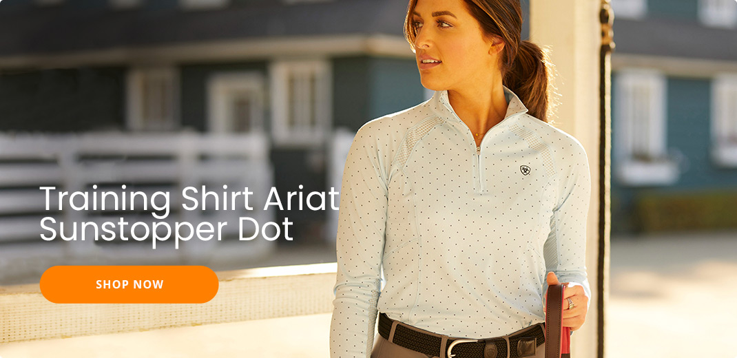 Training Shirt Ariat Sunstopper Dot